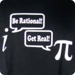 Be Rational Get Real - Adult Shirt