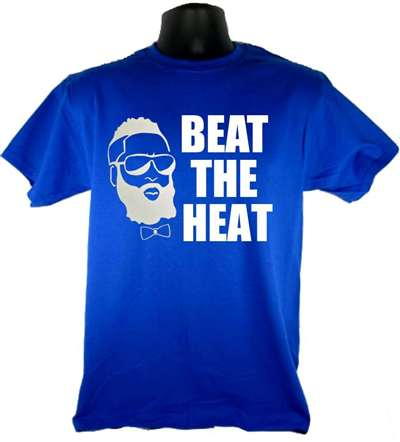 Fear the Beard Beat the Heat - Adult Shirt