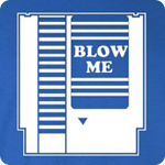Blow Me Video Game - Adult Shirt