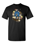 Let's Play Police Tardis Box Funny Parody Adult DT T-Shirts Tee