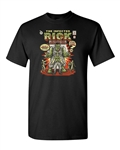 Infected Rick Funny Comic Parody Zombie T Shirt