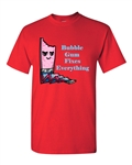 Bubble Gum Fixes Everything Adult DT T-Shirts Tee