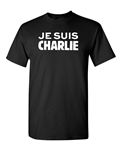 Je Suis Charlie Support France Adult T-Shirt Tee