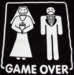 Game Over Marriage T-shirt-CLICK ME!