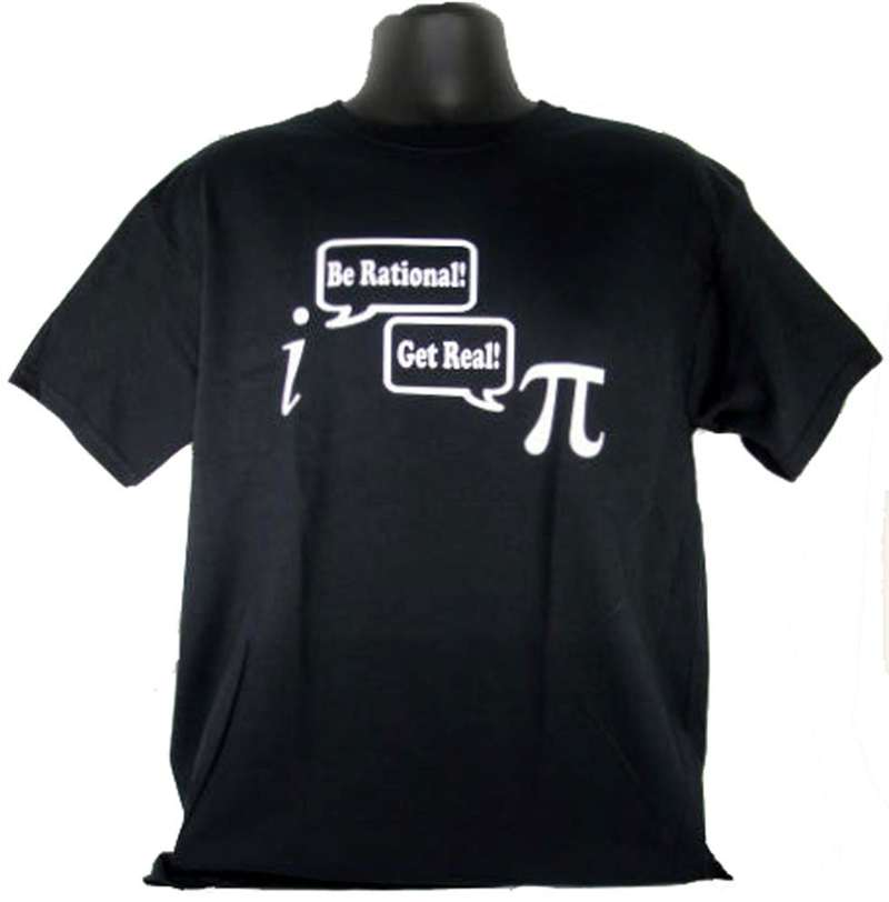 8706e73aa Be Rational Get Real - Adult Shirt