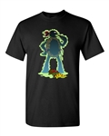 Turtle Pizza Funny Parody DT Adult T-Shirt Tee