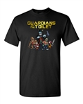 Guardians of the Toilet Funny Parody DT Adult T-Shirt Tee