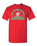 We Gonna Party Like Birthday Christmas Funny Parody Adult DT T-Shirt Tee