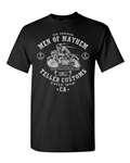 Teller Customs Cycle Shop Adult DT T-Shirts Tee