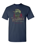 Walker's Bait and Tackle Shop Funny Parody Adult DT T-Shirts Tee