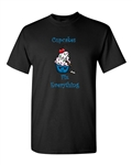 Cupcakes Fix Everything Adult DT T-Shirts Tee