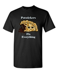 Potstickers Fix Everything Adult DT T-Shirts Tee