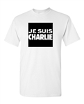 Je Suis Charlie France Freedom Bold DT Adult T-Shirt Tee