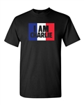 I Am Charlie Support France Flag DT Adult T-Shirt Tee
