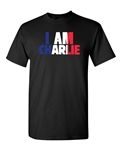 I Am Charlie Support France Freedom DT Adult T-Shirt Tee