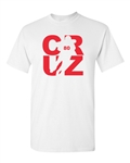 Cruz Fan Wear Football Sports Adult T-Shirt Tee
