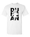 Duncan Fan Wear Basketball Sports Adult T-Shirt Tee