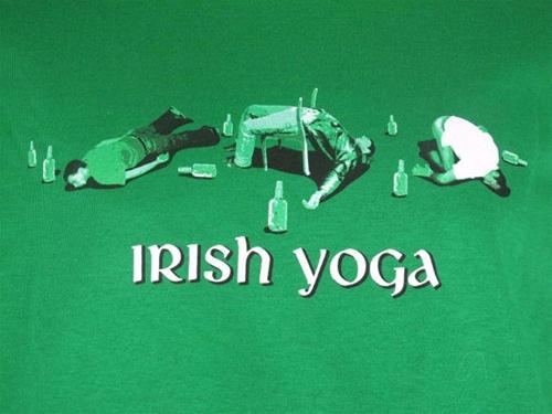 Irish Yoga - T-shirt