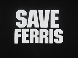 Save Ferris T-Shirt-CLICK ME!