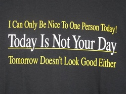 I Can Only Be Nice to One Person Today T-Shirt-CLICK ME!