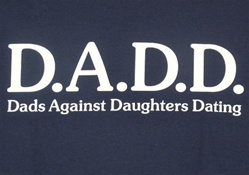 D.A.D.D. Dads Against Daughters Dating T-Shirt-CLICK ME!