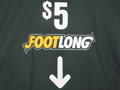 $5 FOOTLONG FUNNY SUBWAY T-SHIRT-CLICK ME!