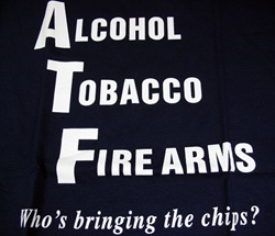 Alcohol Tobacco Firearms Funny T-shirt-CLICK ME!