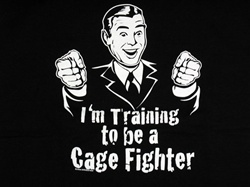 I Am Training To Be A Cage Fighter T-Shirt-CLICK ME!