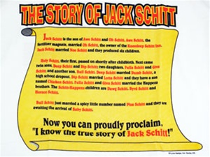 I Know Jack Schitt T-Shirt Short and Long Sleeve